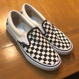 Checkered Slip On Vans (Ultracush)